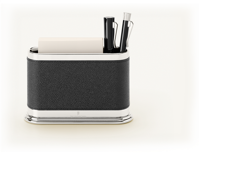 PEN HOLDER OVAL BLACK - Graf von Faber-Castell